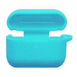 Silicon Case for Airpods Pro with Hook- Light Blue