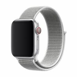 Devia Deluxe Series Grey Nylon Strap Apple Watch 38/40mm (Series 1/2/3/4/5/6/SE)