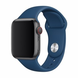 Devia Deluxe Blue Sport Strap for 38/40mm Apple Watch (Series 1/2/3/4/5/6/SE)