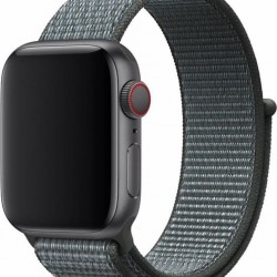 Devia Deluxe Storm Grey Nylon Strap for 42/44mm Apple Watch (Series 1/2/3/4/5/6/SE)
