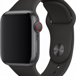 Devia Deluxe Black Sport Strap for 38/40mm Apple Watch (Series 1/2/3/4/5/6/SE)