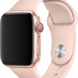 Devia Deluxe Pink Sand Sport Strap for 38/40mm Apple Watch (Series 1/2/3/4/5/6/SE)