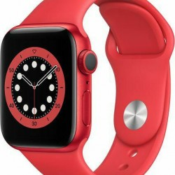 Apple Watch Series 6 GPS 40mm Product Red Aluminum Case with Sport Band Red EU