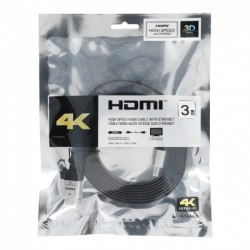 Cable HDMI to HDMI 3.0m High Speed 4K Ultra HD with Ethernet version 2.0 Blister