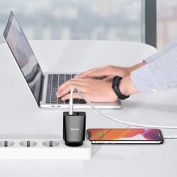 Baseus Dual USB Charging Head 10.5W Black
