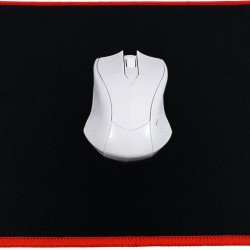 Gaming MousePad Black-Red Stitching (300x240x3mm)