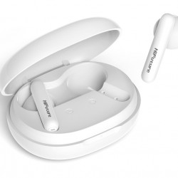 HiFuture FutureBuds+ White Earphones, True Wireless, with charging case