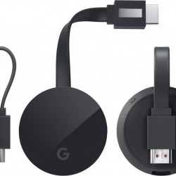 Google Chromecast Ultra 4K Ultra HD HDMI Black