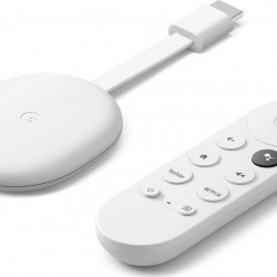 Google Chromecast 4K HDR with Google TV and Google Assistant - Snow White