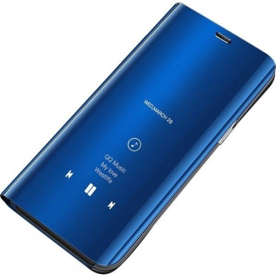 Smart Clear View Case for Huawei P40 Lite E / Huawei Y7P Blue