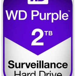 Western Digital 3.5'' Purple 2TB, 5400RPM, 64MB, SATA IΙI