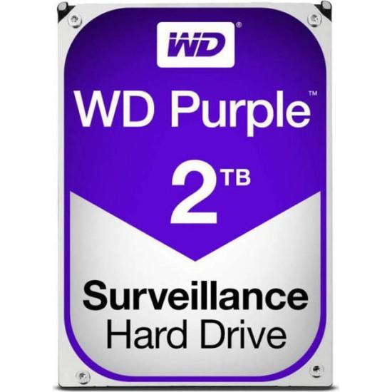 Western Digital 3.5'' Purple 2TB, 5400RPM, 64MB, SATA IΙI