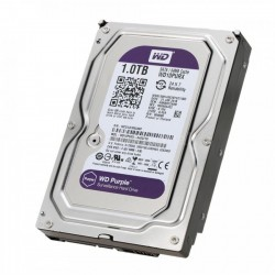 Western Digital Purple Surveillance 3.5'' 1TB, 5400RPM, 64MB, SATA III