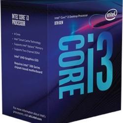 INTEL CPU Core i3-9100F, Quad Core, 3.6GHz, 6MB Cache