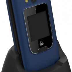 PowerTech Mobile Sentry Dual Blue, 2 screens, SOS Call, Flashlight