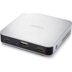 AIPTEK Wireless Projector MobileCinema Pico i70, 430061, Wi-Fi Miracast, HDMI | Silver