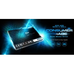 Silicon Power SSD A55 128GB, 2.5'', SATA III, 550-420MB/s 7mm, TLC