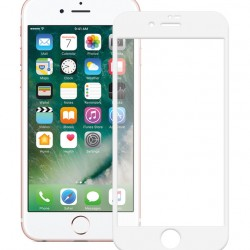 POWERTECH Tempered Glass 5D Full Glue for iPhone 7, White