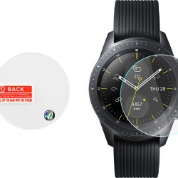 Volte-Tel Tempered Glass for Samsung Watch 42mm R810/R815 2.5D Full Glue 1.20'' 9H 0.26mm 2.5D Full Cover
