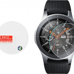 Volte-Tel Tempered Glass for Samsung Watch 46mm R800/R805 2.5D Full Glue 1.30'' 9H 0.26mm 2.5D Full Cover