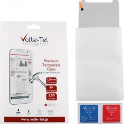 Volte-Tel Tempered Glass Samsung Tab A 2019 T510/T515 10.1'' - 9H 0.30mm 2.5D Full Glue Full Cover