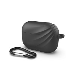 Devia Silicone Black Elf Case for Airpods Pro (With Loophole)