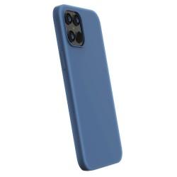Devia Liquid Silicon Case for iPhone 12/12 Pro Blue (6.1'')