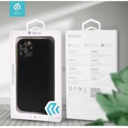 Devia Liquid Silicon Case for iPhone 12 Mini Black (5.4'')