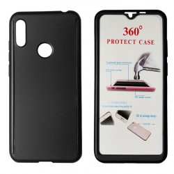Powertech 360° Body Case Black forHuawei Y6/Pro 2019 (with Tempered Glass)