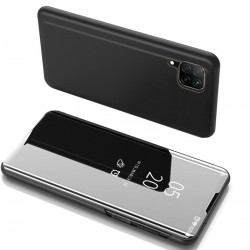 PT Clear View Case for Samsung Galaxy A21s, Black - PowerTech (MOB-1575)