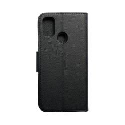 Fancy Book Case for Samsung Galaxy M21 - Black