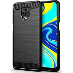 Forcell Carbon Black Case for Xiaomi Note 9S / 9 Pro
