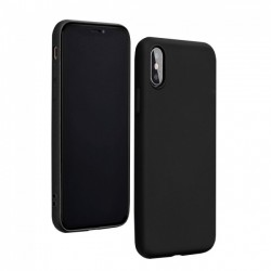 Forcell Silicon Case for Huawei P40 Lite E - Black