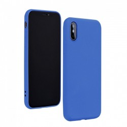 Forcell Silicon Case for Huawei P40 Lite E - Blue