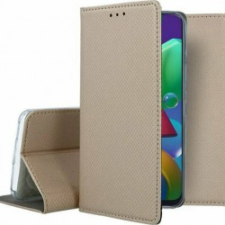 Smart Case Book Gold for Samsung Galaxy M21