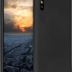 Forcell Soft Silicon Case Black for Xiaomi Redmi 9A