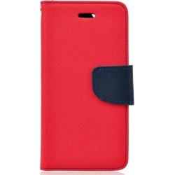 Case Fancy Book Red/Navy for Samsung A20e