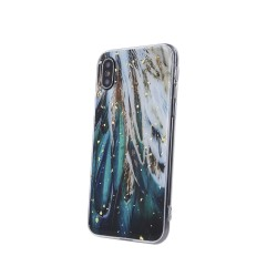 Back Case Gold Glam feathers for Xiaomi Poco M3/Redmi 9T