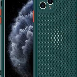 Back Breath Silicon Case Green for Xiaomi Redmi 9
