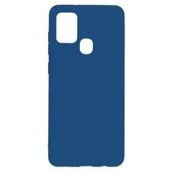 Samsung Galaxy A21s Silicone Case TPU Soft Touch Blue