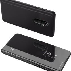 PT Clear View Case for Xiaomi Redmi Note 9, Black - PowerTech