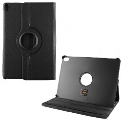 Volte-Tel Case Samsung Tab A 2019 T510/T515 Black - 10.1'' Leather Book Rotating Stand