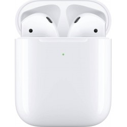 Apple AirPods 2 (2019) with Wireless Charging Case White EU