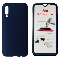 Phone Case Body 360° Blue for Xiaomi Mi 9 Lite with Tempered Glass - POWERTECH - 6.39''