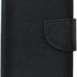 Fancy Book Case Black for Realme 7 Pro