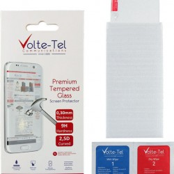 Volte-Tel Tempered Glass for Samsung M21/A30s/A50s - 6.4'' 9H 0.30MM 2.5D Full Glue